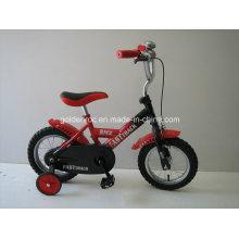 """Bicicleta de 12 """"con marco de acero para niños (1207)"""