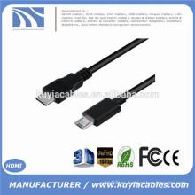 El más nuevo ALTA VELOCIDAD 10Gbit / S 1M USB 3.1 mecanografía C al cable micro del USB 1M