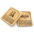 FQ nuevo diseño caliente venta bolsillo bambú hombres barba peine