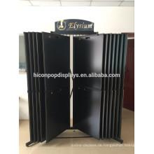 Custom Stone Showroom Rack Große Metall Freistehende Schiebeboden Granit und Marmor Fliesen Display