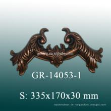European Style Dekorative Polyurethan Zubehör für das Haus