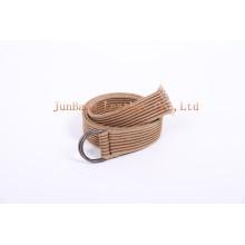 Lady′s Customized Unisex Fabric Belt Webbing Belt