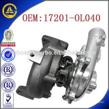 CT16V 17201-OL040 17201-OL040 turbocompresseur pour Toyota KZN130