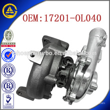 CT16V 17201-OL040 17201-OL040 turbocharger for Toyota KZN130