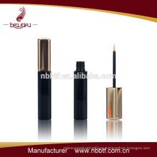 Botella cosmética del eyeliner del oro vacío al por mayor