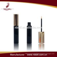 wholesale cosmetic empty gold eyeliner bottle