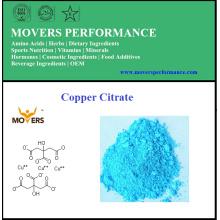 Grate de Alimentos de Alta Qualidade Mineral Copper Citrate