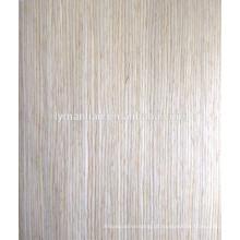 folheado de madeira de carvalho branco natural chinês