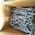 Galvanized Steel tent peg / outdoor camping steel nail tent pegs