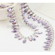 rhinestone cup chain crystal shoulder chain