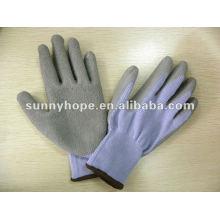 10g Latex-beschichtete Handschuhe mit T / C-Liner