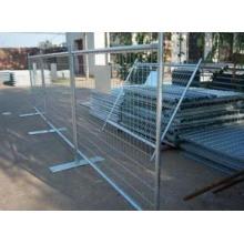 Chaud plongé galvanisée clôture provisoire