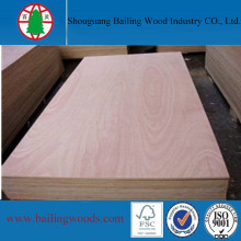 Okoume Veneer Door Size Plywood for Door Skin