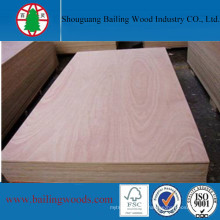 12mm Poplar Core Plywood for Decoration and Ceiling Use