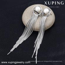 E-178 Xuping 2016 nuevo diseño hecho a mano borla pendiente de joyería al por mayor