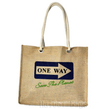 Popular Soft and Comfortable Jute Shopping Bags (hbjh-10)