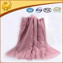Elegante moda de alta qualidade liso sólido caxemira Pashmina