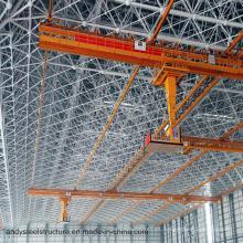 Cubiertas prefabricadas con estructura de estructura espacial