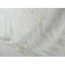 100% poliester Nowa konstrukcja Sheer Sheer Table Cloth