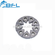 Le carbure d'outil de coupe de BFL insère la lame de fraisage ronde pour le traitement du métal