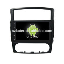 Vier Kern! Android 6.0 Auto-DVD für Pajero / V97 mit 9-Zoll-Full Touch kapazitiven Bildschirm / GPS / Spiegel Link / DVR / TPMS / OBD2 / WIFI / 4G