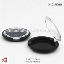 MC5066 Caixa de pó de fermento em forma redonda / recipiente para fermento em pó com tampa transparente