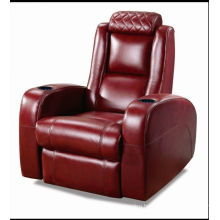 High Quality Home Theater Recliner Genuine Leather Sofa (A168)