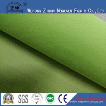 Green 100% PP Nonwoven Fabric for Shopping Bags / Gifts Bags