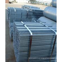 Fábrica de rejillas de acero galvanizado