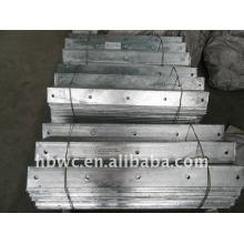 railway materials, hot-dip galvanized crossarm