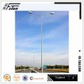 12M calle poste de iluminación con lámpara de sodio de alta