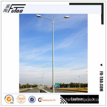 Leading for Garden Lamp Post 12M Round Single Bracket Lamp post supply to China Taiwan Factory