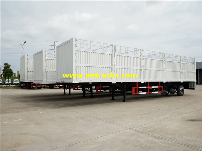 40ton Box Cargo Trailers