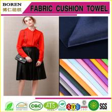 Plain tingido tecido de cetim pesado para as mulheres Vestido de noiva Têxtil Fabricação