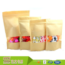 Guangzhou Cheap Price Food Grade Soy Ink Printing 100Kg Craft Pouch Custom Sugar Paper Bags Packaging With Own Logo