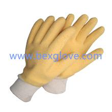 Baumwoll Jersey Liner, Latex Handschuh