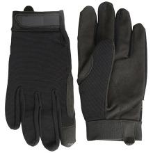 Keep Warm Mechaic Leather Palm guantes de bicicleta para exteriores