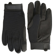 Keep Warm Mechaic Leather Palm Outdoor Bicycle Gloves