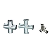 Sanitary L Type Cross/Clamped Cross/Welded Cross (IFEC-SE100003)