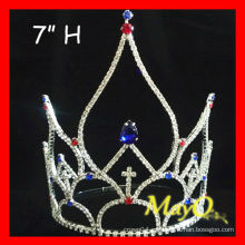 Pantalla grande Patriotic Crystal pageant crown