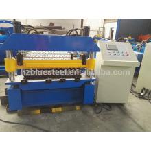 Doppelte Decking Wellpappe Eisen Dachblech Rollenformung Making Machine Made in China