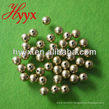 Dull Gold Round Loose Pearl Beads