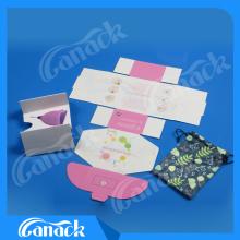Ce & ISO de boa qualidade Medical Silicone Menstrual Cup
