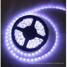 12v 16w 2400k aquecem a luz de tira do diodo emissor de luz da fita SMD5630 do branco 3m