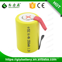 Good Quality Factory Price 2500mAh 4/5SC 1.2V Ni-MH battery
