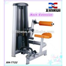 Équipement de conditionnement physique d'extension arrière / Équipement de gymnastique d'intérieur de vente chaude / machine de force