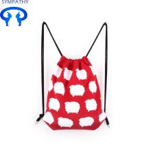 Sac en toile de coton personnalisé avec sac à dos