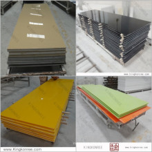 12mm man made stone solid surface sheets for wall clading