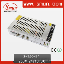 250W 24V 10A DC Output Switching Power Supply
