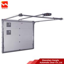Porta seccional automática da garagem do metal